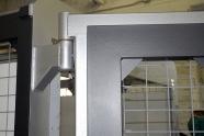 hinged kiln door