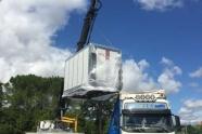 kiln module loading