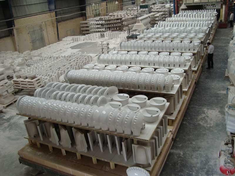 forni ficola kiln for sanitary ware