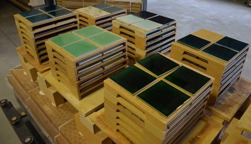 kiln for tiles