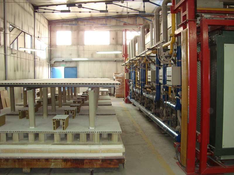 forni ficola kiln for sanitaryware